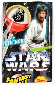 Chupa Chups Star Wars 1996, Empty Packet