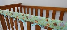 Baby Cot Crib Rail Cover Teething Pad - Jungle Babies REDUCED