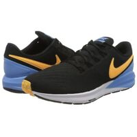 Men's Nike Air Zoom Structure 22 Running Shoes AA1636-011 Size US 8.5 - Black