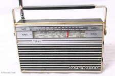 RETRO! Kleines 70er Tragbares Transistor Radio SCHAUB-LORENZ TINY UK MW Teleskop
