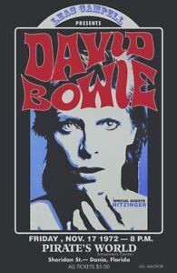 David Bowie Vintage Poster A5