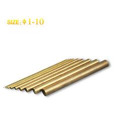 40 Pcs ø1 Brass Solid Round Rod Plus 40Pcs ø2 Brass Rod Plus 40Pcs ø3 Brass Rod