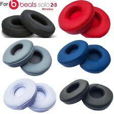Replacement Ear Pads Earpads for Beats by Dre Solo 2 3 Wireless Wired Part