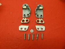 Set of USED 60 61 62 63 Ford Galaxie Falcon Door Striker Plates #C0AZ-6222008-A