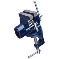 "50mm 2"" Swivel Base Mini Baby Vice Clamp Workbench Craft Model Maker Hobby DIY"