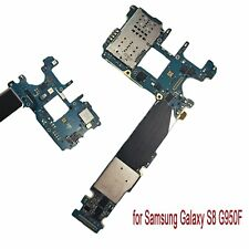 For Samsung Galaxy S8 G950F Logic Main Motherboard Replace Unlocked 64GB Board