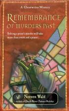 Rememberance of Murders (Ghostwriter Mysteries)-ExLibrary