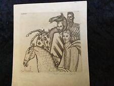 "Thomas Handforth ""Three Wise Men"" Pencil Signed Listed Artist"