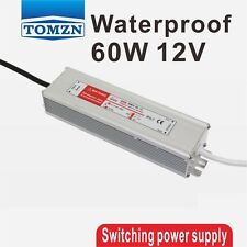60W 12V 5A Waterproof outdoor Single Output Switching power supply