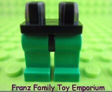 LEGO Minifig Green LEGS Black HIPS Castle Arctic Star Wars Rebel Pilot Body Part