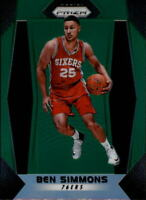 2017-18 Panini Prizm Basketball Prizms Green Parallel Singles (Pick Your Cards)