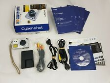 Sony Cybershot DSC-W110 complete boxed in good condition tested