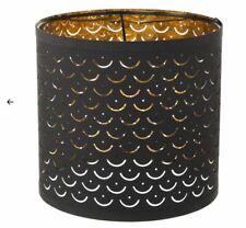 Ikea NYMÖ Lamp shade, black, brass-colour, 24 cm NYMO 303.408.33 UK-BMC