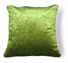Mn111a Lime Green Crushed Velvet Style Cushion Cover/Pillow Case *Custom Size*