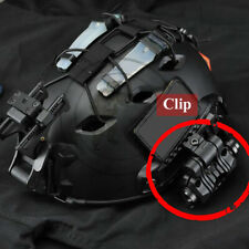 Tactical Quick Release Helmet Flashlight Mount Holder Clip Clamp Accessory hot