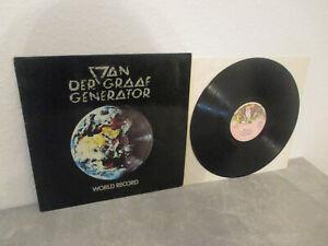 "VAN DER GRAAF GENERATOR: World Record, 9124 001, GER, 12""/ LP, TOP RAREST PROG!!"