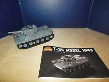 T-34 Model 1943 WWII Soviet Tank - Brickmania Custom Lego Building Set 2199