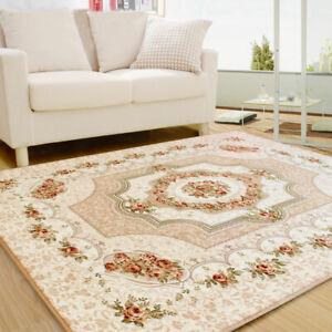 European Style Living Room Carpet Vintage Big Area Rug For Bedroom Floor Mat
