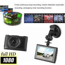 "3"" Full HD 1080P Car DVR CCTV Dash Camera G-Sensor Vehicle Video Cam Recorder AA"