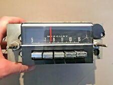 1967 Ford Mercury AM Radio Original Used part # ZTPG Comet Cougar