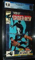 WEB OF SPIDER-MAN #10 1986 Marvel Comics CGC 9.8 NM/MT