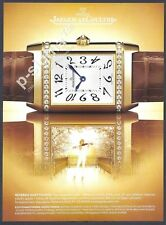 JAEGER-LE COULTRE reverso duetto duo watch - 2007 Print Ad