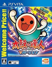 NEW PS VITA Taiko no Tatsujin V Version Welcome Price Drum Master JAPAN OFFICIAL