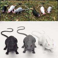 Plastic Toy Rats Mouse Model Figures Kids Halloween Tricks Pranks Props Decor