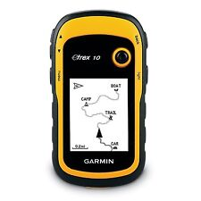 GARMIN eTrex 10 Outdoor Handheld GPS Receiver with WORLDWIDE Basemap Maps NEW