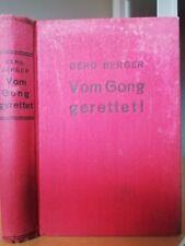 Berg Berger – Vom Gong gerettet! Kriminal, Boro Verlag Noch gute Erhaltung