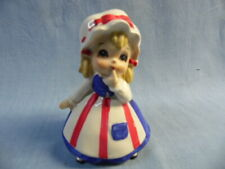 New ListingVintage Lefton Patriotic Betsy Ross Figurine With Finger On Chin!