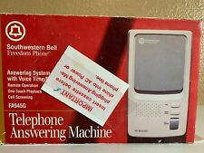Southwester Bell Telephone Answering Machine FA945G Vintage Tape Style