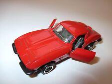 Chevrolet Corvette C2 Split Window (1963) rot rosso rouge red, Auto Pilen 1:43!