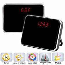 5MP HD Camcorder Alarm Clock Hidden Camera DVR Digital Video Motion /w Remote US