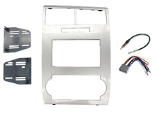 Double Din Dash Radio Stereo Installation Kit Fits 2005-07 Dodge Charger Magnum