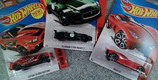 3 Hot Wheels HW Race series Die Cast Cars  New Mustang  Velocita  75 Jaguar