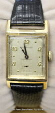 Vintage 1940s Longines 9L 10K Gold Filled Watch Art Deco