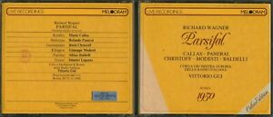 Melodram Live Recordings Wagner Parsifal Vittorio Gui Rome 1950 3 CD Set 36041