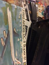 Revell United Airlines Dc-8 Super 61 New In Box