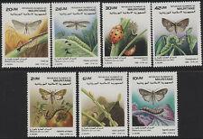 Mauritania 1988 Parasite Insects set (7v) MNH. Artwork by Buzin.