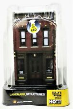 HO Scale Woodland Scenics BR5049 Sully's Tavern Built & Ready Landmark Structure