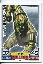 Marvel Hero Attax Series 1 Base Card #183 Titanium Man