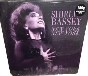 SHIRLEY BASSEY New York New York Vinyl Record NEW Sealed