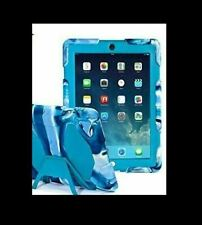 iPad 2 3 4 case Kidspr iPad Case Super Protect Shockproof Camouflage Blue