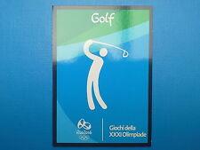 Panini Italia Team Rio 2016 Card n.19/45 Golf