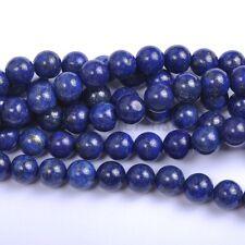 Wholesale 40Pcs Natural Lapis Lazuli Gemstone Round Spacer Loose Beads 4MM #3