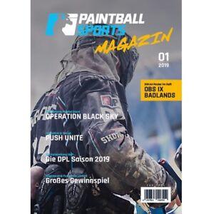 Paintball Sports Magazin - Das Paintball Sports Kundenheft (Ausgabe 01/2019)