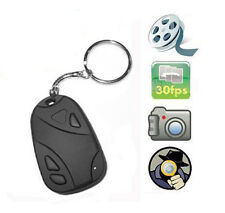 Mini Car Key Chain Spy Camera Hidden Pinhole Security DVR Video Digital Recorder
