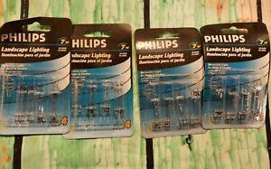 Phillip's  7W 12V Four (4) Fuse Type Clear Bulbs 4 Packs (16 bulbs total) T3