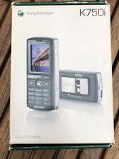 Sony Ericsson K750i Blasted Silver Mobile Phone - USED - unlocked
